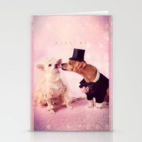 Kiss me - for iphone Stationery Cards