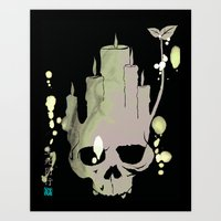 Death is Reborn/Reborn is Death Art Print