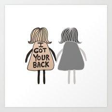 Sisters #GirlScouts #Fun… Art Print