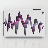 Tectonic Wormhole iPad Case