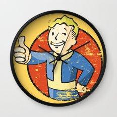 Fallout Vault boy Wall Clock