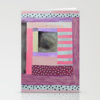 Dots and Stripes  Stationery Cards
