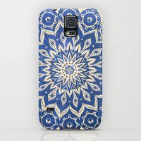 Galaxy S5 Cases featuring ókshirahm sky mandala by Peter Patrick Barreda