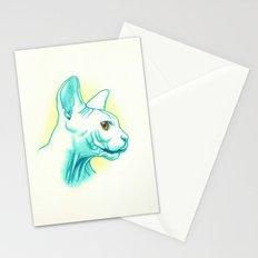 Sphynx cat #01 Stationery Cards