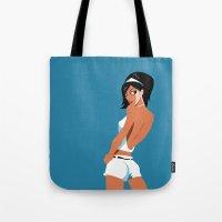 Lookign back Tote Bag