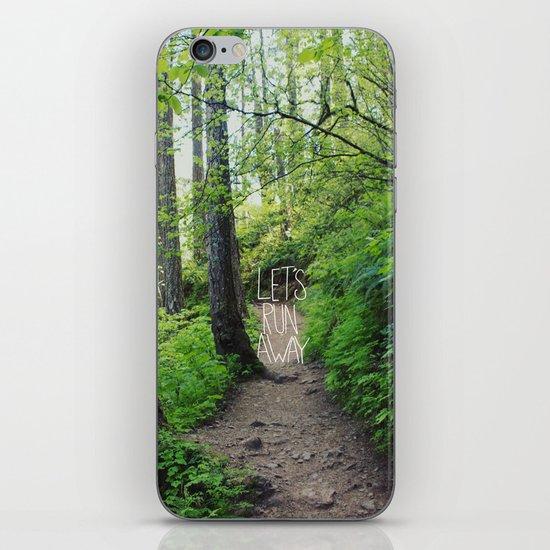 Let's Run Away VII iPhone & iPod Skin