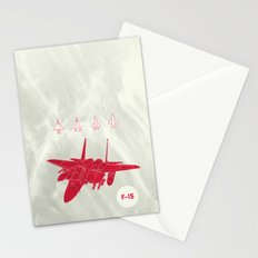 F-15 Stationery Cards