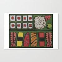 Bento Box Canvas Print