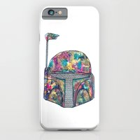 iPhone & iPod Case featuring Boba Fett Galaxy by Happy Jack