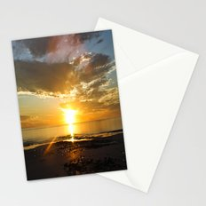sunset over Broome Stationery Cards