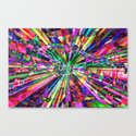 Colorful Rays of Light Canvas Print