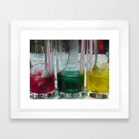 Mix Colors Framed Art Print