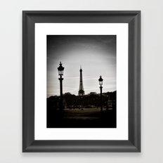 Twilight in Paris Framed Art Print