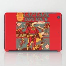 Captain Obvious! iPad Case