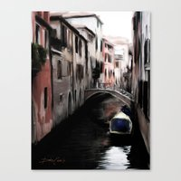Canal #2 Canvas Print
