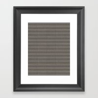 Stripes. Framed Art Print