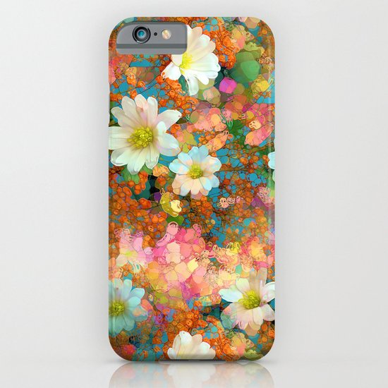 Spring Showers Fabulous Flowers iPhone & iPod Case