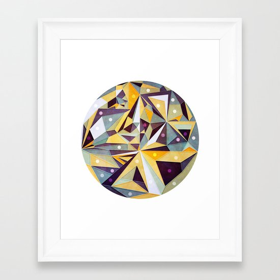 Stelar Framed Art Print