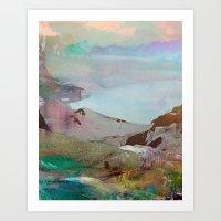 Untitled 20120206s (Land… Art Print
