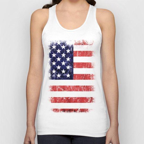 Americana Unisex Tank Top