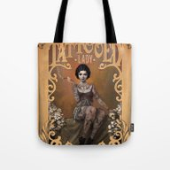 The Amazing Tattooed Lad… Tote Bag