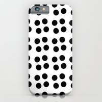 Copijn Black & White Dots iPhone 6 Slim Case