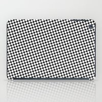 WHITE DOT iPad Case
