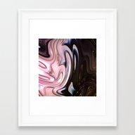 9LL Fractal Framed Art Print