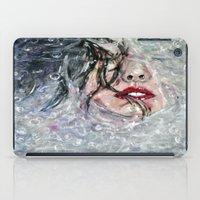 SOUS L'EAU iPad Case