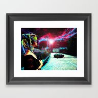 Hello From The Other Sid… Framed Art Print