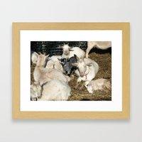 Sea Of White Framed Art Print