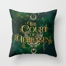 The Court of Terrasen  Throw Pillow