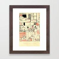 Introversion Framed Art Print