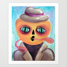 Calabacito in a Suit Art Print