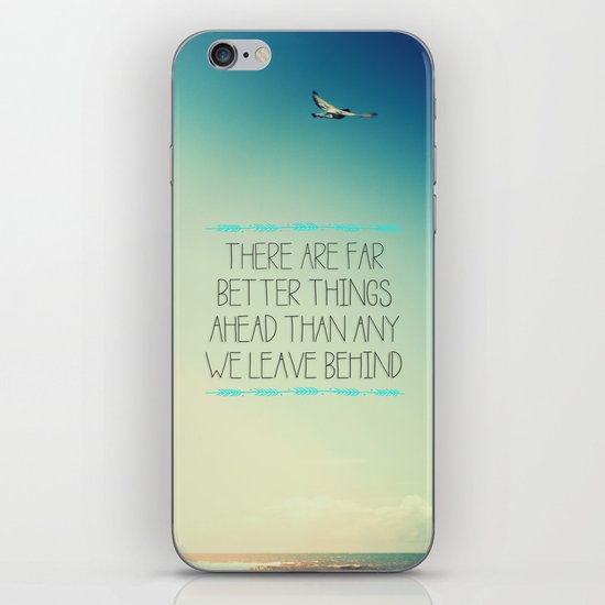 Better Things iPhone & iPod Skin