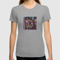 the LONG LOST SEARCH for the MISSING DNA Womens Fitted Tee Tri-Grey SMALL
