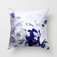 leaves impression Throw Pillow