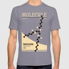 MOLECULE SMALL Mens Fitted Tee Slate