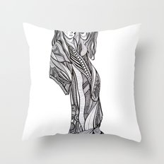 Komakai No.1 Throw Pillow