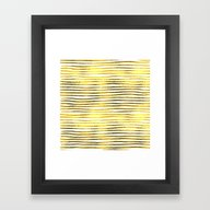 Framed Art Print featuring Golden Touch IV by Better HOME