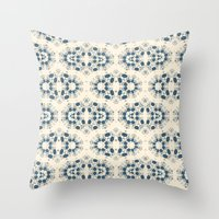 Digital Lace Throw Pillow