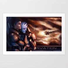 Mass Effect - Memories Art Print