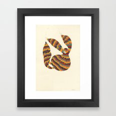 A Trifle High Framed Art Print