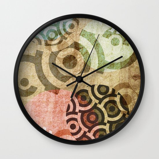 direction Wall Clock