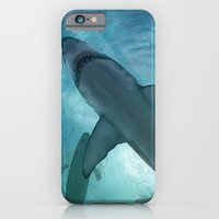 iPhone & iPod Case featuring Great White by Andy Fairhurst Art