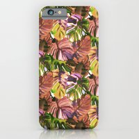 Welcome to the Jungle Palm Aubergine iPhone 6 Slim Case