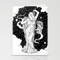 Stationery Cards featuring Ghost by Corinne Elyse