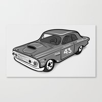 Stock Car 01 - Ted Schmilly Canvas Print