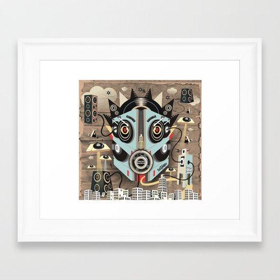 Ubiquity sound Framed Art Print