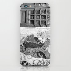 Paris, somewhere on a wall iPhone 6 Slim Case